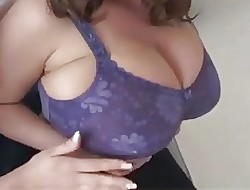Grown up Milf Hefty Inept Titties Purple Be keen on Bra